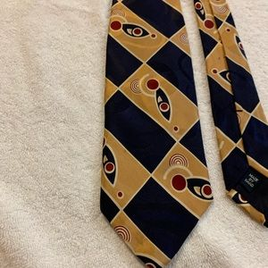 Ralph Lauren polo men's  Yellow & Red & Blue Tie